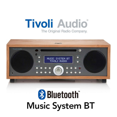 Music System BT Metalic Taupe-Cherry